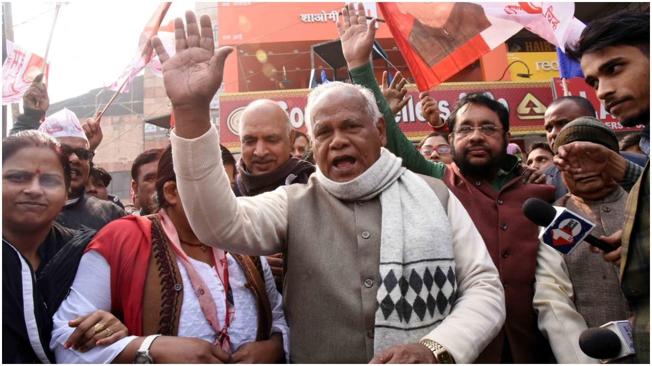जीतन राम मांझी महागठबंधन पर 10 को अहम फैसला कर सकते हैं , Jitan Ram Manjhi