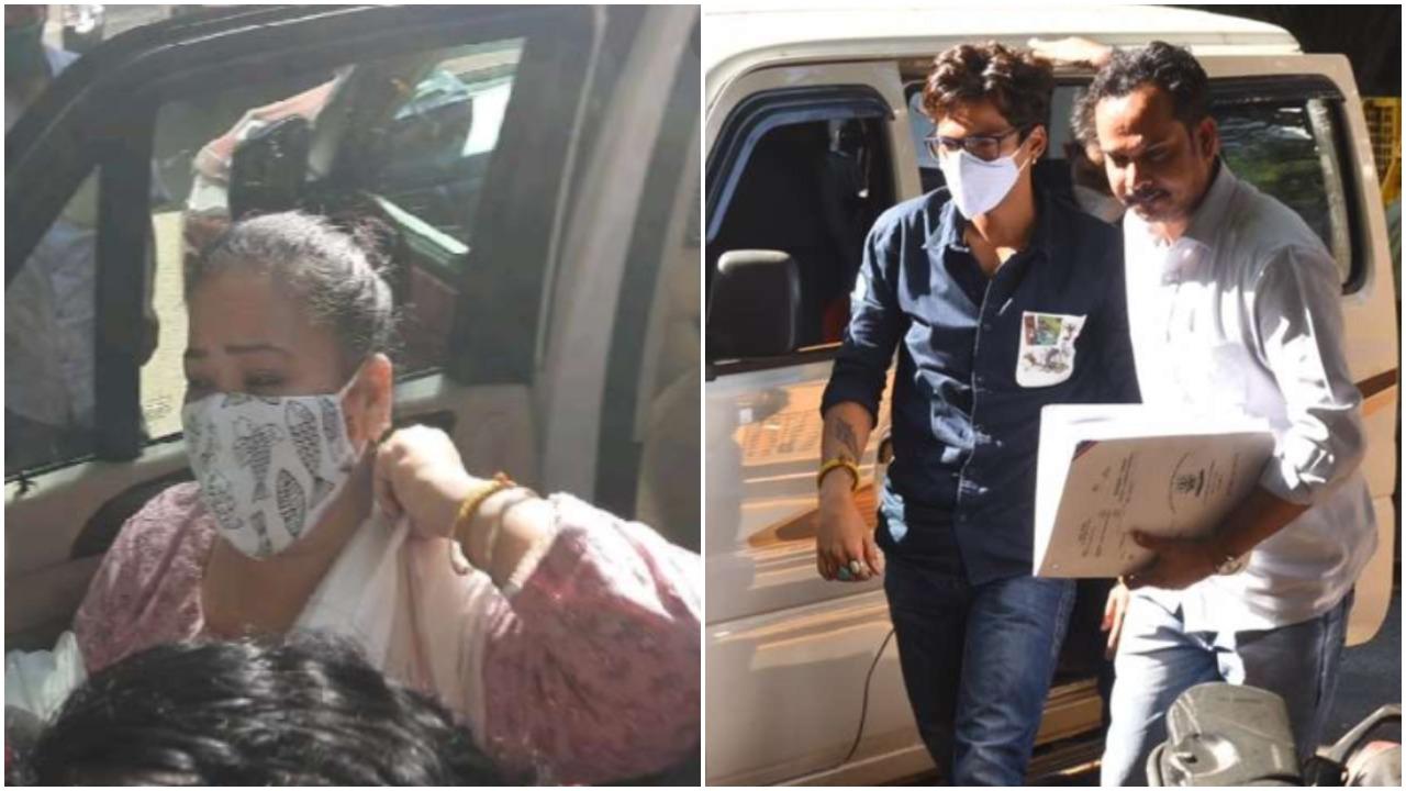 live update comedian Bharti Singh and harsh limbachiya arrested by NCB Live  : ड्रग्स केस में भारती और हर्ष की आज कोर्ट में होगी पेशी - News Nation