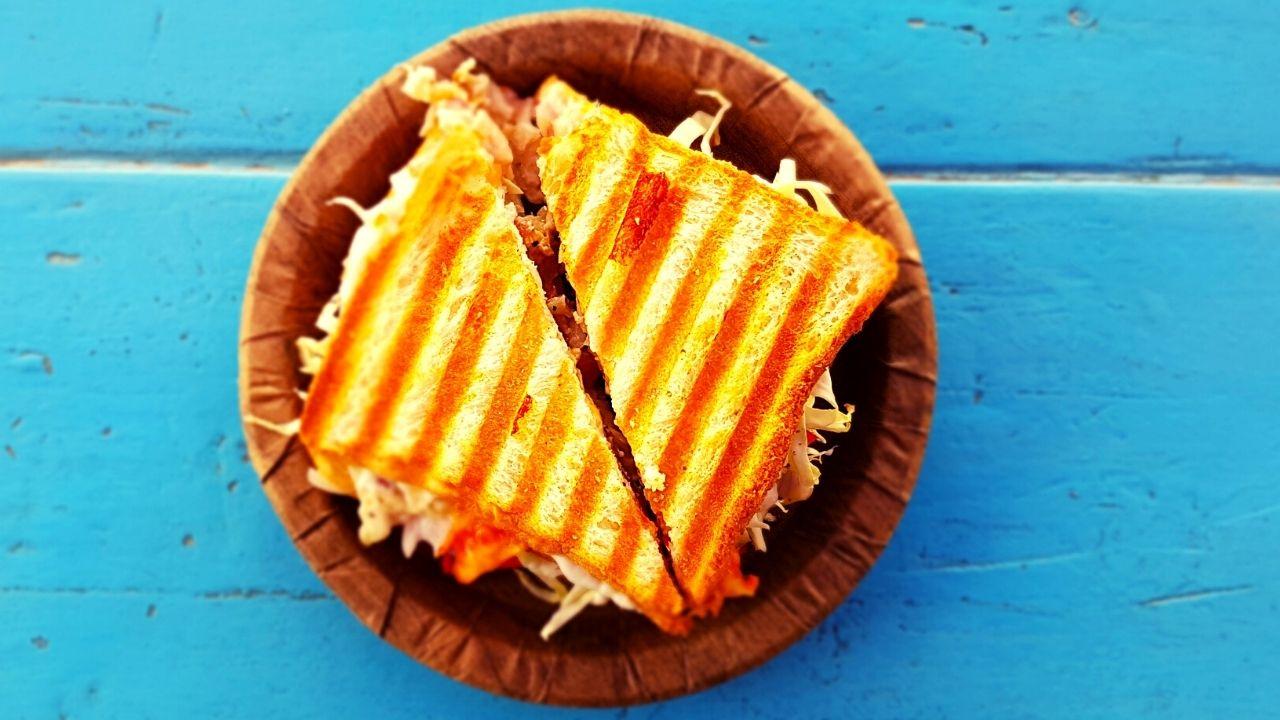 ब्रेड पिज्जा सैंडविचकी रेसिपी