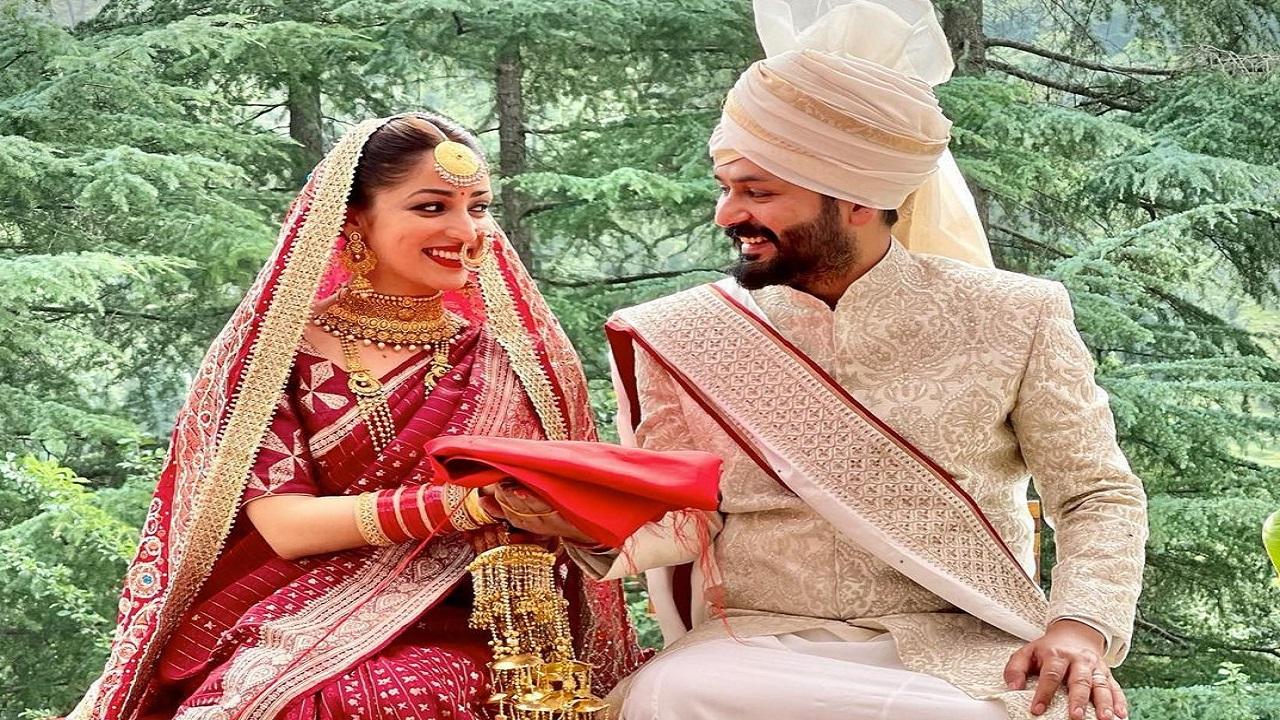 यामी गौतम ने निर्देशक आदित्य धर संग रचाई शादी